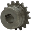 "2-7/16"" Bore 60 Pitch 18 Tooth Chain Coupler Half"