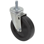 "5"" x 1-1/4"" Threaded Stem Swivel Caster"