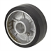 "5"" x 1-3/4"" Aluminum Wheel with Rubber Tread"
