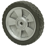 8x1-5/8 Diamond Tread Wheel 1/2 Bore