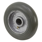 8x2.25   Rubber Balloon Tire on Aluminum Hub