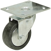3.5x1.25 Albion Swivel Plate Caster
