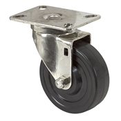 "4"" x 1-1/4"" Albion Swivel Plate Caster 02RR04151S002"