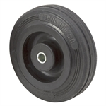 "4"" x 1"" Rhombus Solid Rubber Wheel 07R100C"