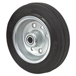 "4"" x 1"" Rhombus Solid Rubber Wheel 08R100CZ"