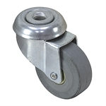 "2"" x 3/4"" RHOMBUS SWIVEL BOLT-HOLE CASTER"