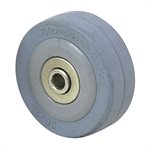 "2"" x 11/16"" Rhombus Thermoplastic Rubber Wheel 34C050VZ"