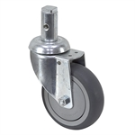 3-15/16 x 1-1/4 Rhombus Swivel Stem Caster