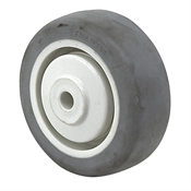 "3-1/2"" x 1-1/4"" Faultless Thermoplastic Rubber Wheel 42905"