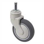 "5"" x 1-1/4"" Medcaster Swivel Grip Ring Caster PG05RPP125SWGR04"