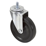 "4"" x 1"" Threaded Stem Swivel Caster"