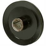 "5.5"" Dia Single Groove Drive Pulley 1.125"" Bore"
