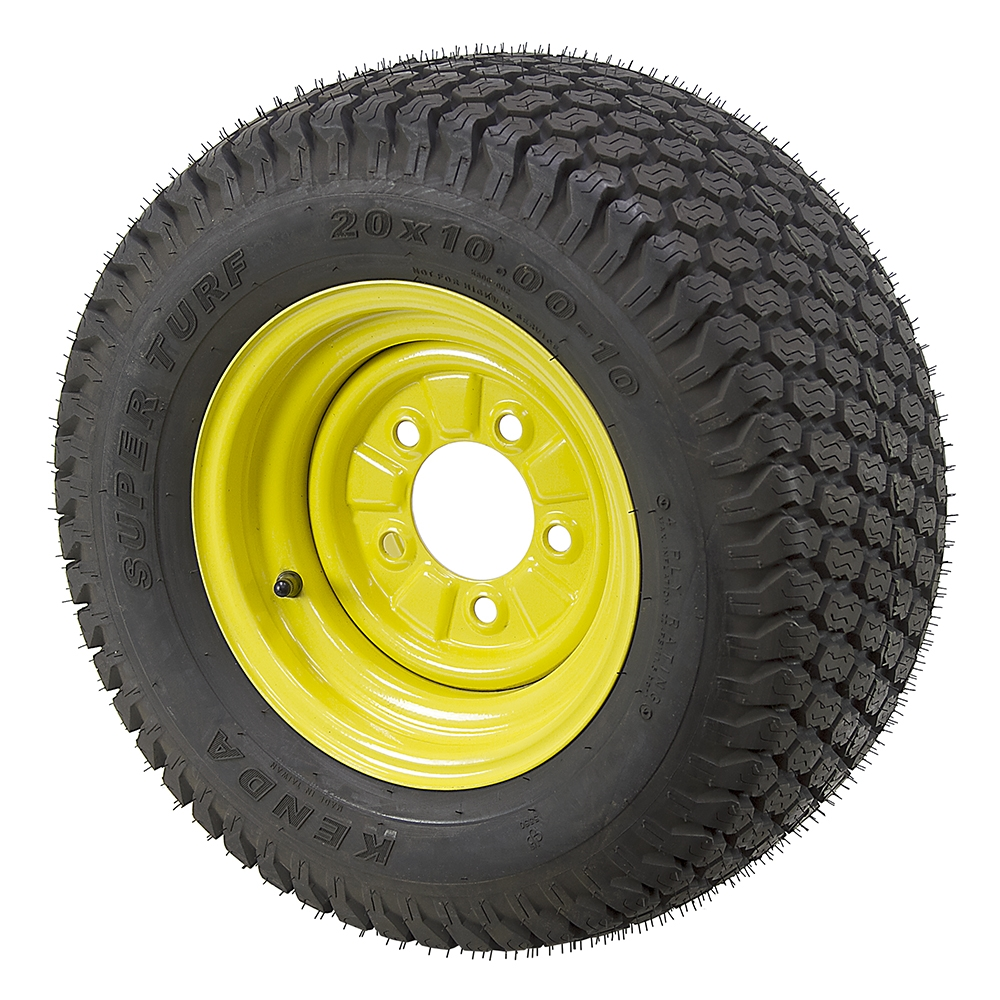 20x10.00-10 Kenda Super Turf K500 Tire and Wheel Assembly ...