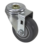 "3"" x 1-1/4"" SHEPHERD SWIVEL BOLT HOLE CASTER 110463M"