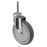 "6"" x 1-1/4"" Medcaster Swivel Threaded Stem Caster 900661"
