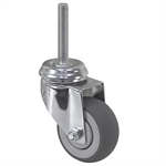 "3"" x 1-1/4"" Medcaster Swivel Threaded Stem Caster 900206"
