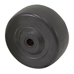 "3"" x 1-1/4"" Jarvis Hard Rubber Wheel 3106AC0"