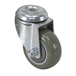 "3"" x 1-1/4"" CATIS SWIVEL BOLT HOLE CASTER Y381H1 W300-SP-S"