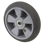 "8"" x 2"" Albion Thermoplastic Rubber Wheel XR0822710H"