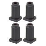 Caster Grip Ring Socket (Set Of 4)