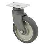 "5"" x 1-1/4"" Albion Swivel Plate Caster PCXB05051S"