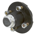 High Speed  4 Bolt Wheel Hub w/ Pressed-In Studs