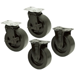 5x2 Waterloo Toolbox Plate Caster Set 1120 lbs