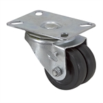 "2-1/2"" x 3/4"" Albion Swivel Plate Caster w/ Wheel Brake 202RN02X52S001"