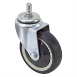 "4"" x 1-1/16"" Pemco Swivel Threaded Stem Caster P77687EA"