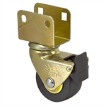 "2"" x 1"" Shepherd Swivel Bracket Caster w/ Wheel Brake 81870"