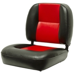 BLACK/RED SEAT w/o SEAT ADJUSTER
