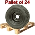 20X8.00-10 4 Bolt Wanda Wheel Turf Tire Assembly - Pallet Of 24 Pieces