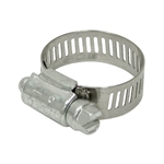 "1/2"" to 1-1/8"" SAE #10 Worm Gear Hose Clamp 1/2"" Wide Ideal 5210"