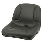 Black Mower Seat
