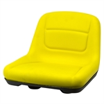Yellow Mower Seat