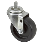 "4"" x 1-1/2"" Swivel Threaded Stem Caster"