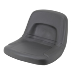 GRAY HIGH BACK MOWER SEAT