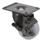 "3"" X 1-1/4"" Encore Swivel Plate Caster w/ Wheel Brake 03545.99"