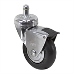 "3"" x 1"" Tente Swivel Grip-Ring Caster w/ Wheel Brake"