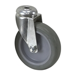 "4"" x 1"" Tente Swivel Bolt Hole Caster"