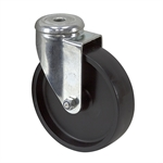 "5"" x 1.25"" Tente Swivel Bolt Hole Caster"
