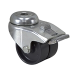"2"" x 0.79"" Tente Swivel Bolt-Hole Caster w/ Wheel Brake"