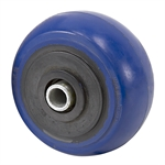 "4"" x 2"" Tente Blue Elastic Tire Wheel"