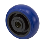 "5"" x 2"" Tente Blue Elastic Tire Wheel"