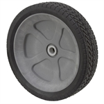 "11-1/2"" x 2-11/16"" Geared Rubber Wheel"