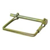 "1/4"" Dia. x 2.5"" Zinc-Plated Snapper Pin Buyers Products 66063"