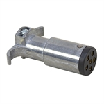 6-Pin Round Die-Cast Zinc Trailer Side Connector Buyers Products TC2006