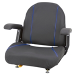 ZTR Seat with Armrests Black