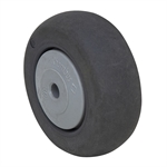 "3"" x 1-1/4"" Rubber Tread on Plastic Wheel"