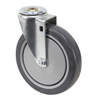 "6"" x 1-1/4"" SWIVEL BOLT HOLE CASTER"